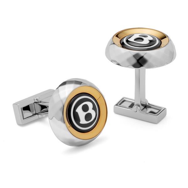 Centenary Facet Knurling Cufflinks