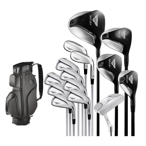 Mens Graphite Golf Set with Cart Bag