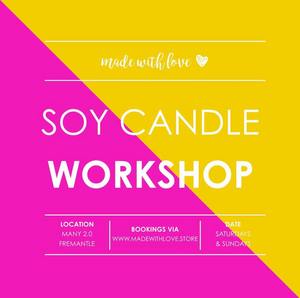 Workshop // Soy Candles // Sun 03.03.2018 10.30am
