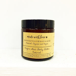 Pure Virgin Shea Body Butter