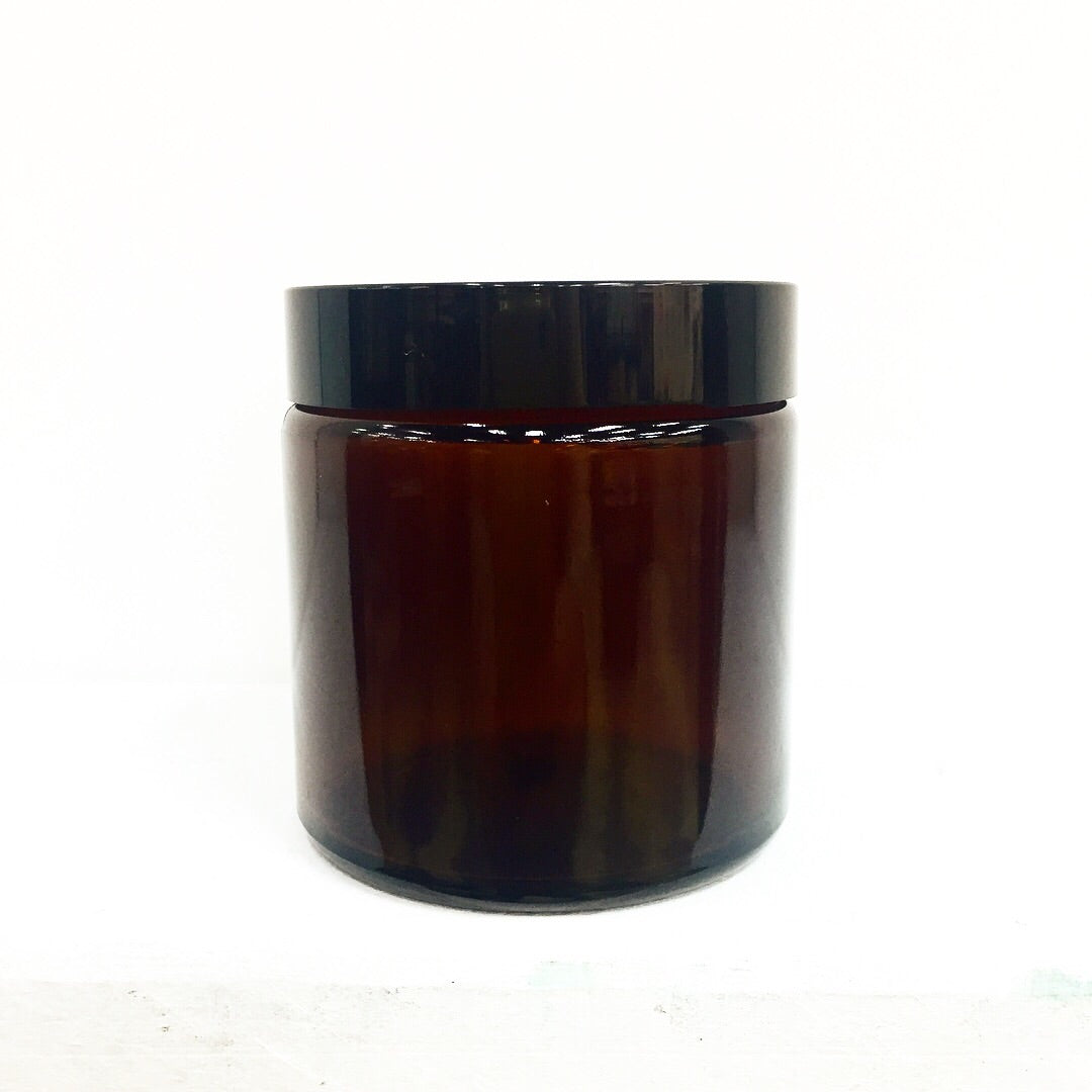 Amber Glass Jar 120ml