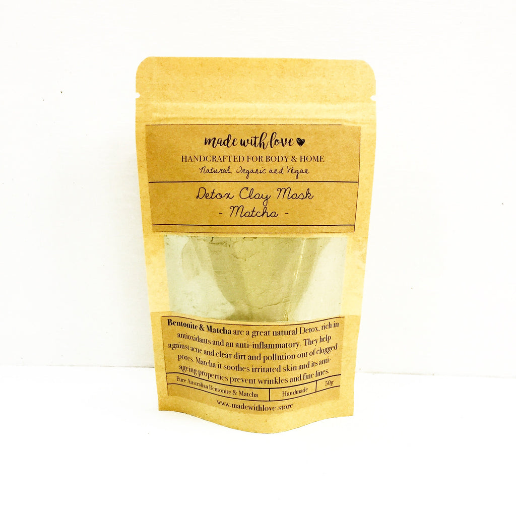 Detox Clay Mask 'Matcha' 50g Pouch
