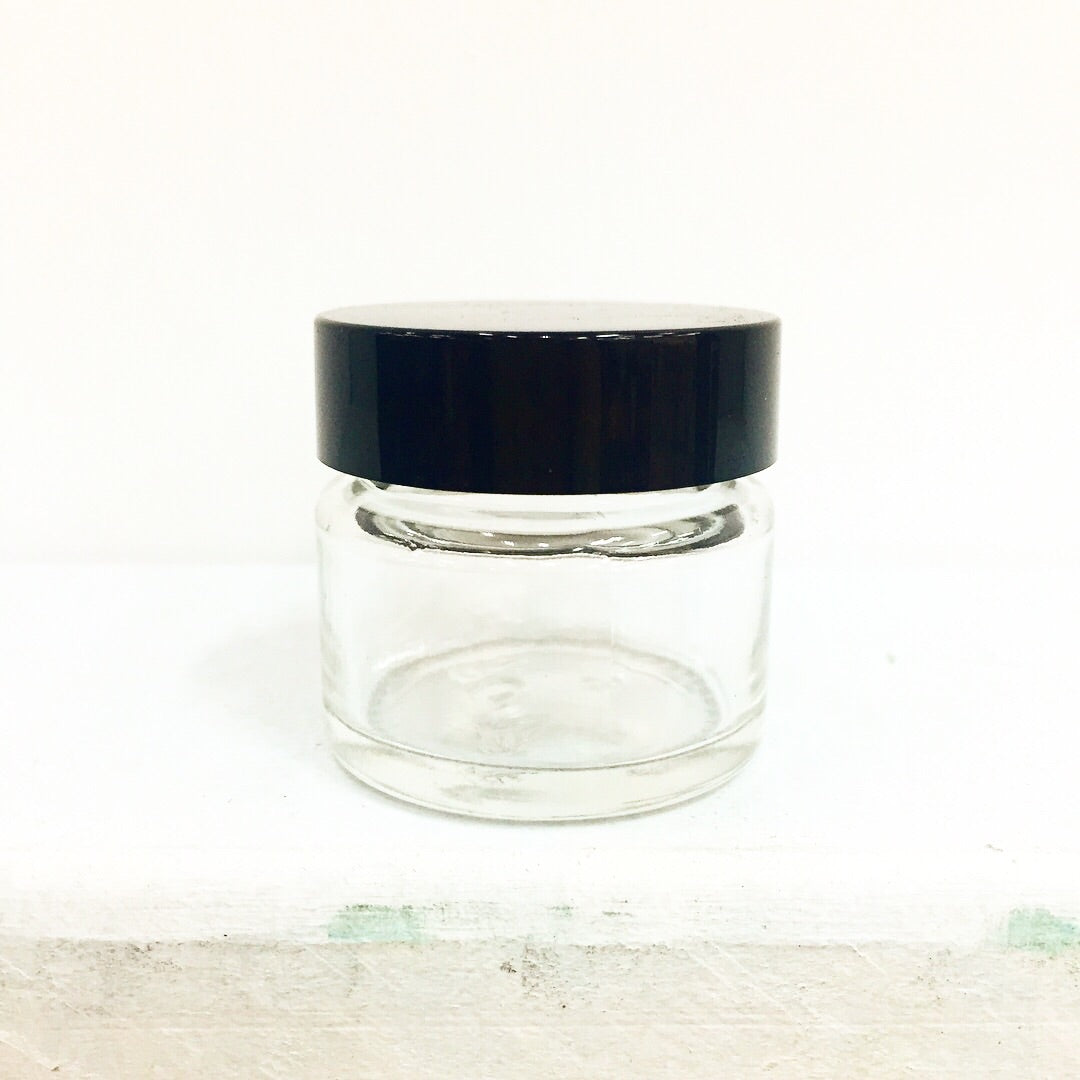 Clear Glass Jar 15ml