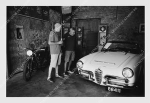 "Photographie "" Alfa Club "" Tirage original 1/10"