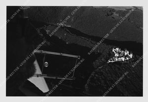 "Photographie "" Survol de Bourscheid en planeur "" Tirage original 1/10"