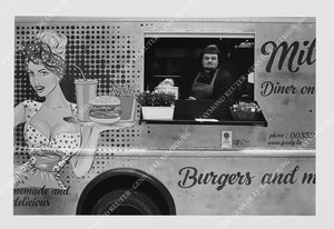 "Photographie "" Foodtruck "" Tirage original 1/10"