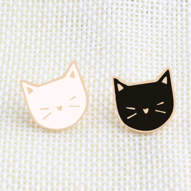 Black & White - Brooch Pins x2 - Bahia Investments