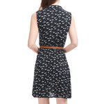 Kitty Print Shirt Summer Dress - Conscientnetworks
