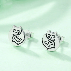 Ying Ying - Silver Earrings - Conscientnetworks