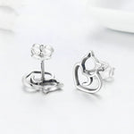 Zador - Silver Earrings - Conscientnetworks