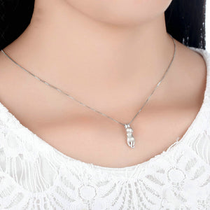 Hang Mat - Silver Necklace - Bahia Investments