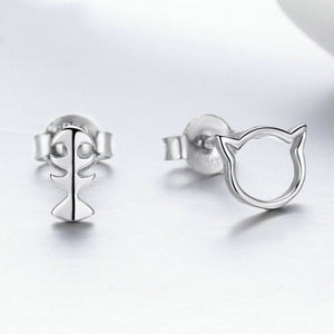 Galang - Silver Earrings - La-tonnelle-bormes