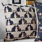 Cats & Flowers - Cushion Cover - La-tonnelle-bormes