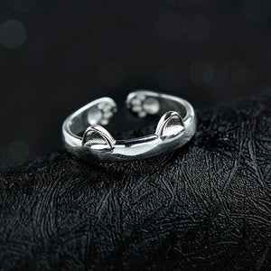 Huggy - Silver Ring - Bahia Investments