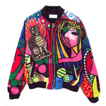 Picasso Cat - Bomber Jacket - Conscientnetworks