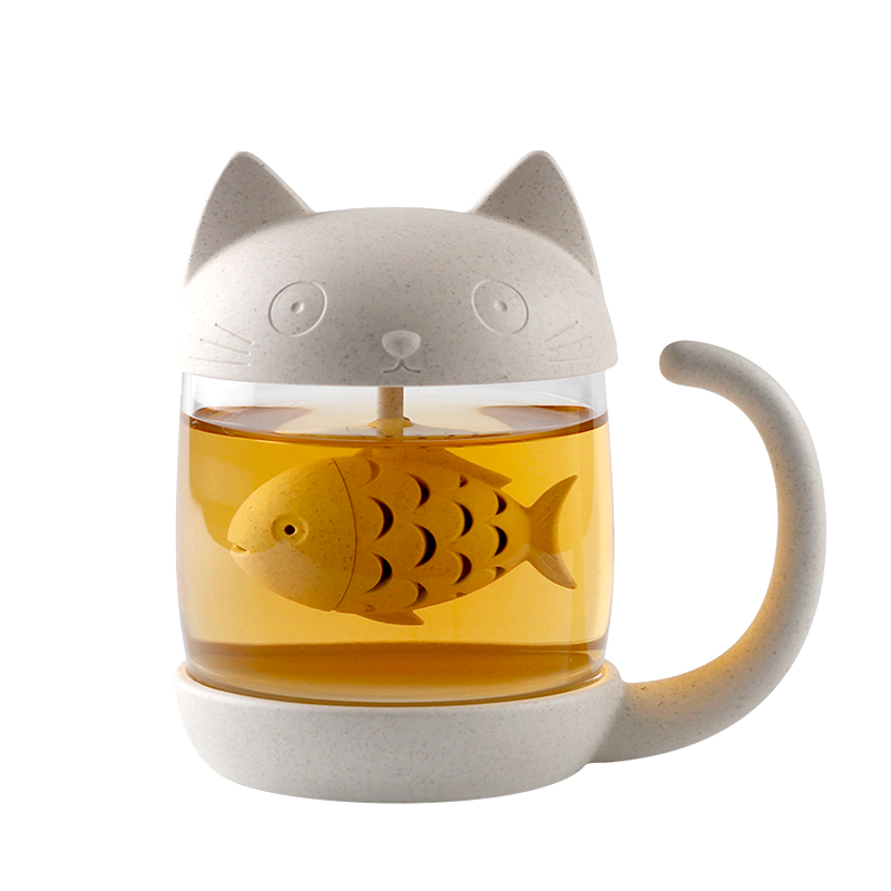 Kittea™ - Tea Brewer Mug - La-tonnelle-bormes