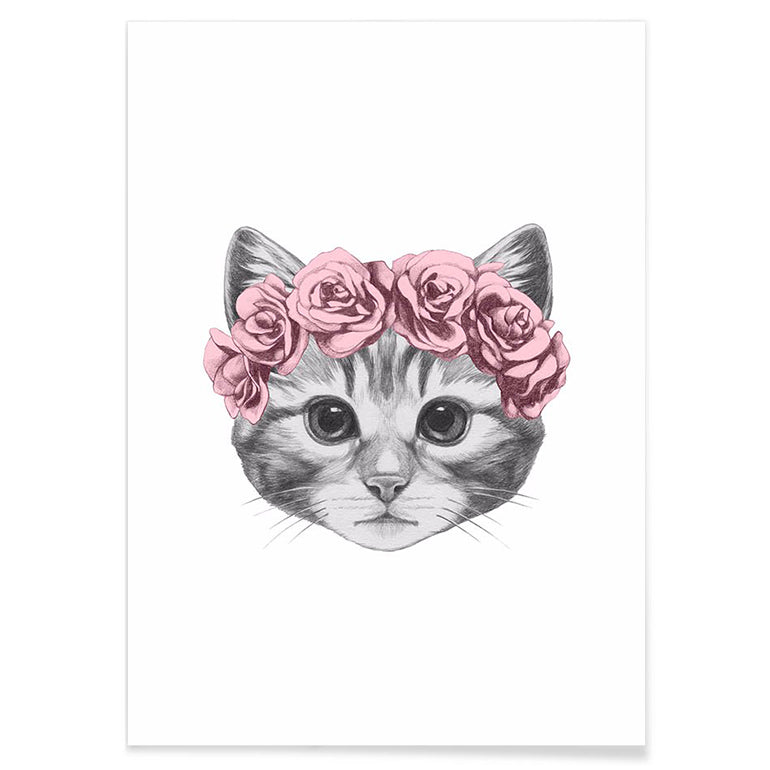 Rose Crown - Canvas Print - La-tonnelle-bormes