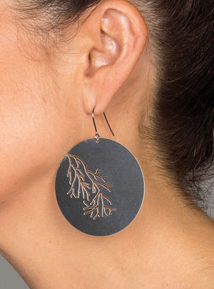 Coral River Earrings