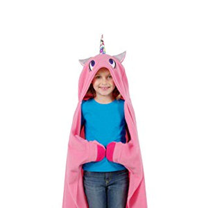 Allstar Innovations Snuggie Unicorn – Soft, Hooded, Blanket, Robe with Sleeves, As Seen on TV (Kids Unicorn)