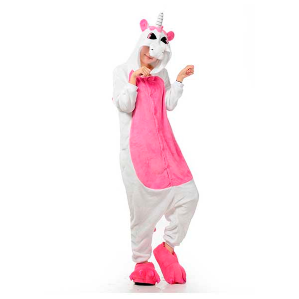 Unicorn pajama (Pink) - cosplay halloween costume adult anime kigurumi