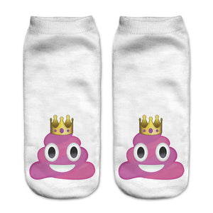 Pink Unicorn Poopy Socks