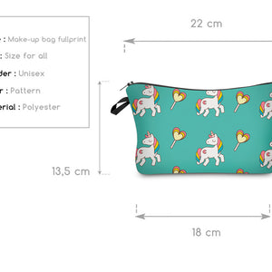 Unicorn Pencil / Cosmetic Bag