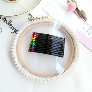 New Girl Candy Black Rainbow Hairpin