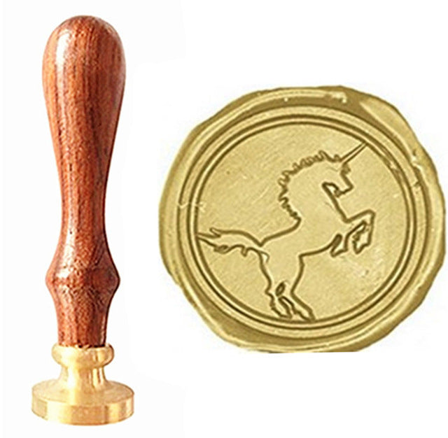 Vintage Cool Unicorn Luxury Wax Seal