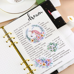32pcs Cute Unicorn decorative stickers