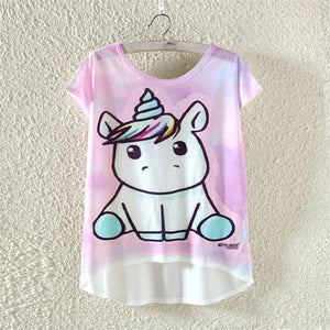 Cute Kawaii Unicorn T-Shirt