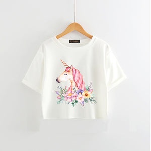 Chic Unicorn T Shirt