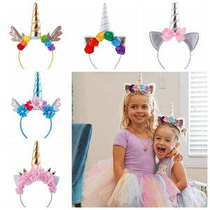Cute Unicorn Horn Hairband