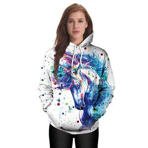 Yoga Colorful Unicorn Sweater
