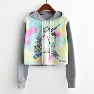 Watercolor Unicorn Casual Sweatshirt
