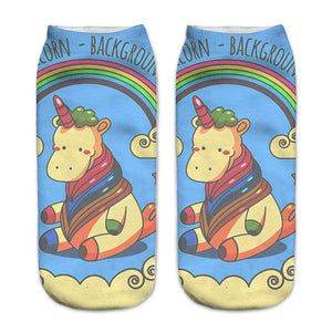 Clouds Unicorn Women Socks