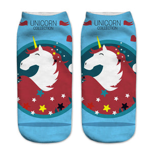 Stars Unicorn Women Socks