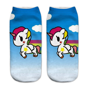 Kawaii Unicorn Women Socks