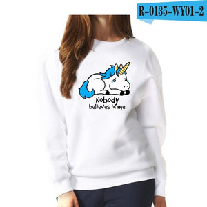 Nobody believes in me Sweatshirt