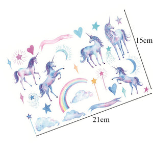 Unicorn Decorative Stickers