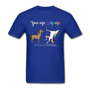Your wife my wife funny unicorn T Shirt