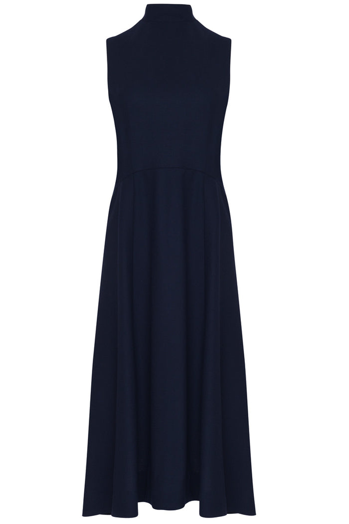 Osmanthus Dress · Navy