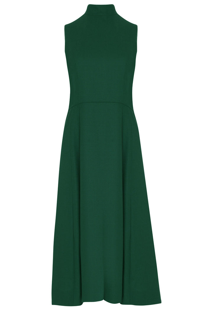 Osmanthus Dress · Racing Green