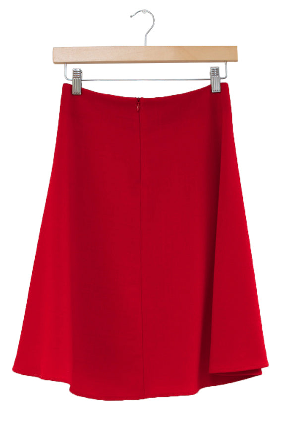 Oak Skirt · Red | Oak Two-Piece