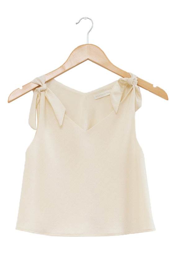 Oak Top · Cream | Oak Two-Piece