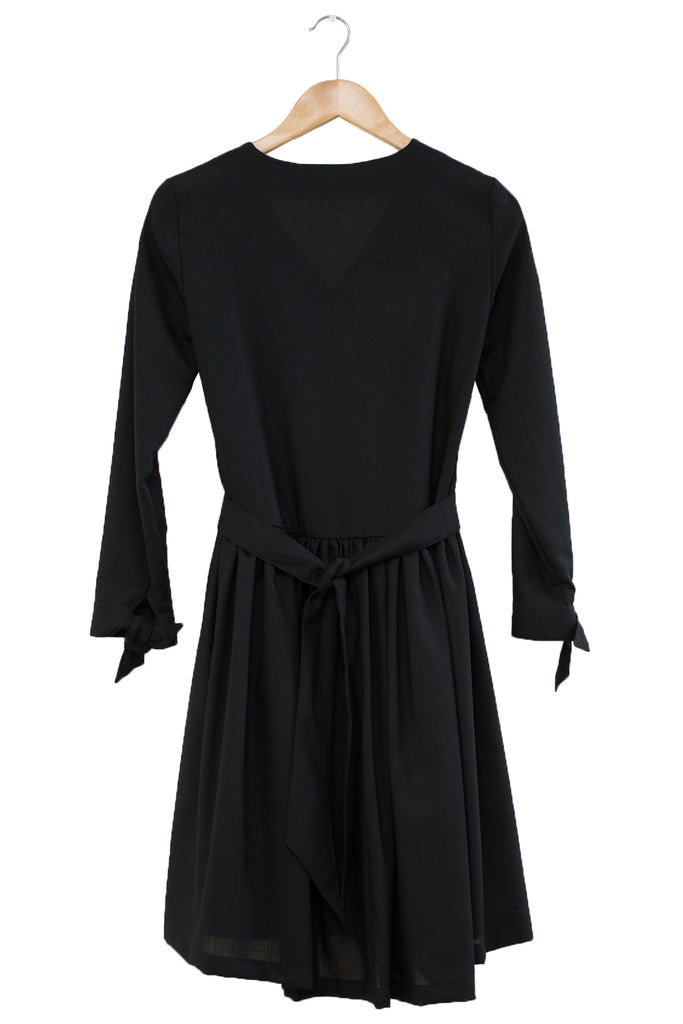 Portland Stone Shirt Dress · Black