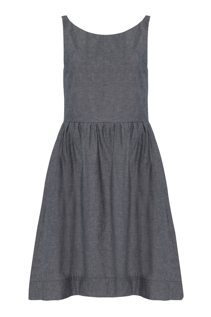 Pieris Dress · Storm Chambray