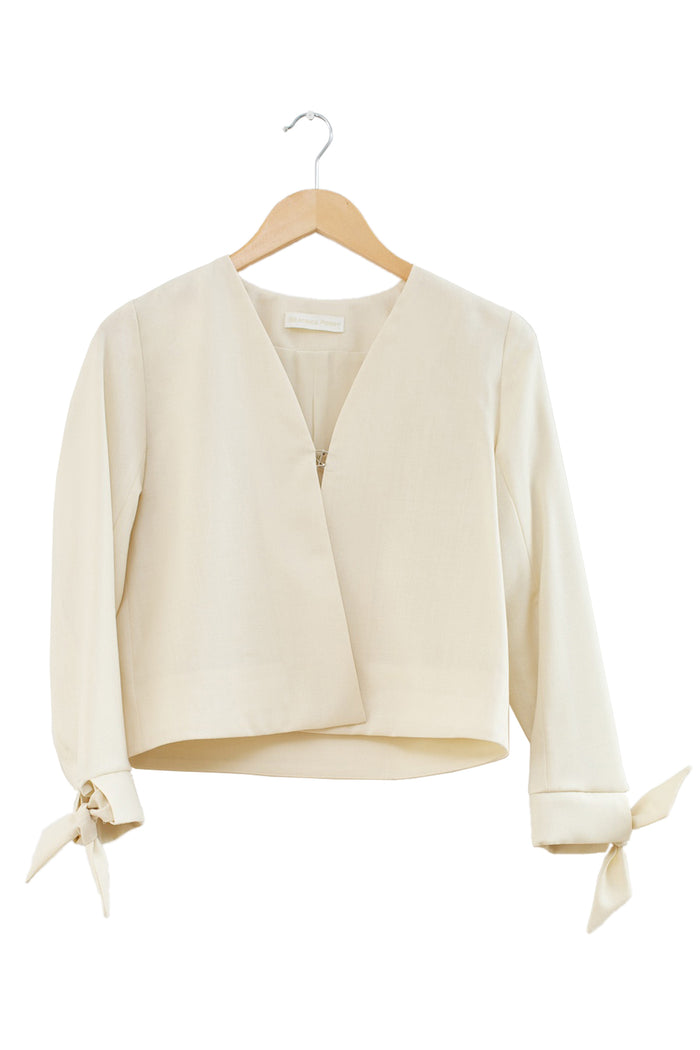 Stucco Jacket · Cream