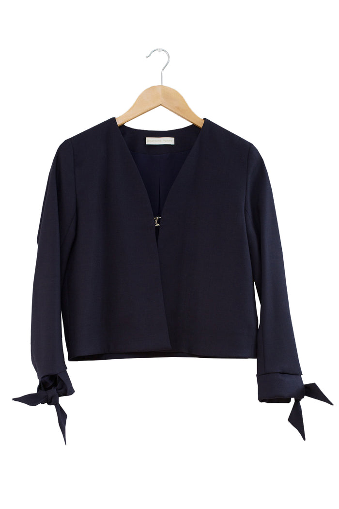 Stucco Jacket · Navy