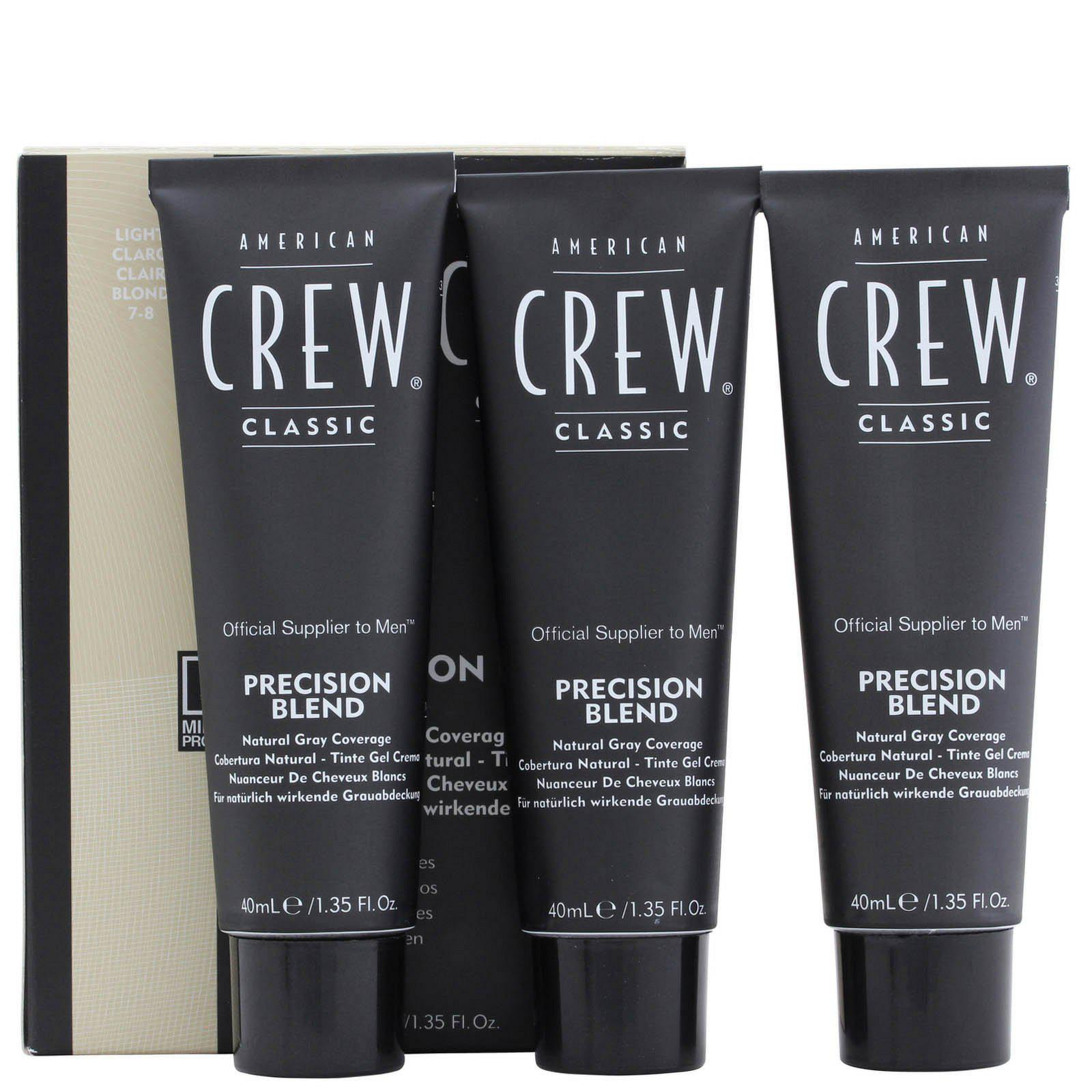 American Crew Precision Blend Med Natural 3 x 40ml