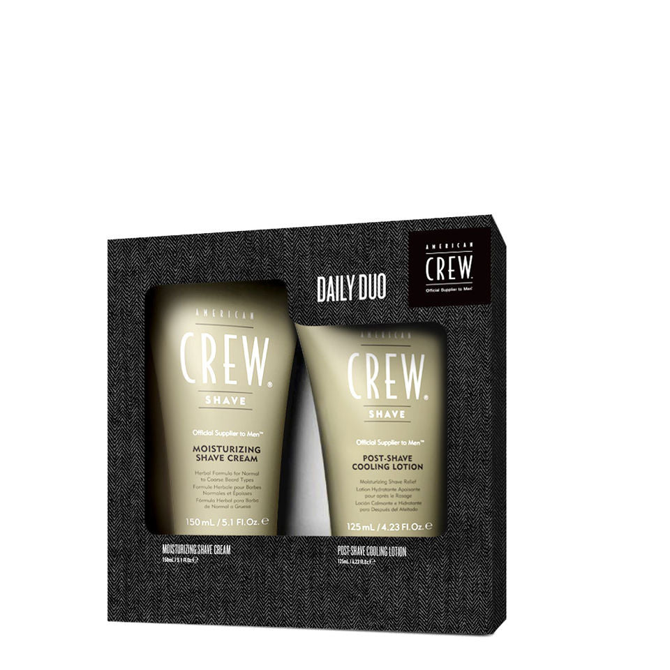 American Crew Shave Cream/Shave Lotion Duo